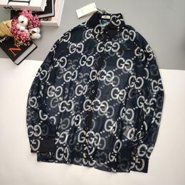 Wholesale mens argyle shirts resale online – 2020 fashion catwalk gc brands mens womens designer Full printing logos shirt tshirt long sleeve tee luxury streewear top quality S M