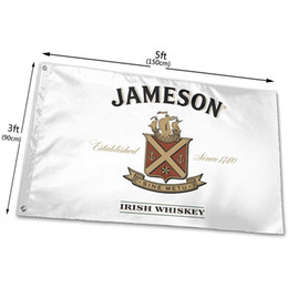 jameson whiskey 2021 - Jameson Irish Whiskey Flag 3x5ft Printing Polyester Club Team Sports Indoor With 2 Brass Grommets,Free Shipping