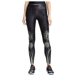 sports prints Australia - Fashion Yoga Pants High Waist Fitness Sport Leggings Floral Printing Elastic Gym Workout Tights Running Sports Trousers 2020JGH5