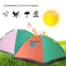 quick beds UK - for 1-5 People Multicolor Pyramid Tent Folding Tent Camping Durable Hunting Travel Bedding Hiking Hanging Bed Mosquito Net