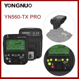 Émetteur sans fil YONGNUO YN560-TX Pro pour caméra YN862 YN968 YN200 YN560 YN560 SpeedLite YN560 TX PRO 2.4G en Solde