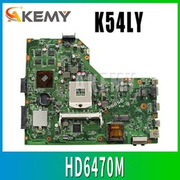 mainboard for laptop Australia - K54LY Laptop motherboard USB:3.0 1GB HM65 HD6470M for ASUS K54LY X54HR K54HR X54H Test mainboard motherboard test 100% ok