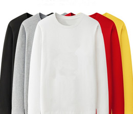 Wholesale xxxxl hoodies for sale - Group buy 9 Colors Mens Hoodies Round neck Solid Color Large Size Fashion Casual Hoodie Loose Sweatshirt Streetwear Sports Sweater XS XXXXL