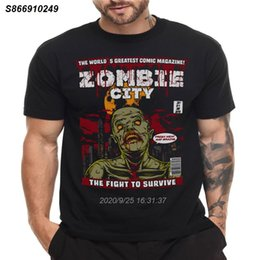 t shirt magazine UK - ZOMBIE MAGAZINE T SHIRT HORROR MOVIE FILM HALLOWEEN 1120269