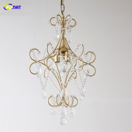 living rooms lights NZ - FUMAT Nordic LED Crystal Chandelier Lights for Living Room Cristal Lustre Pendant Lamp Lighting Pendant Hanging Lamps Ceiling Fixtures