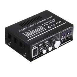 Lepy 12V 220V 400W 2 CH Bluetooth Hifi Stereo USB SD FM Radio Power Stereo Car o Home on Sale
