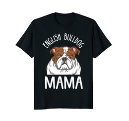 t shirt mama Canada - New Men Shirt 2019 Men Summer Tops English Bulldog Mom Shirt English Bulldog Mama Cosplay T-Shirts