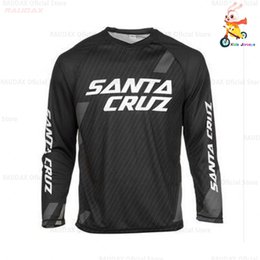 Wholesale jerseys for boys online – design Kid s Long Sleeve Downhill Jersey Mountain Bike Motorcycle Cycling Crossmax Shirt Ciclismo Clothes for Boys MTB MX T FXR DH