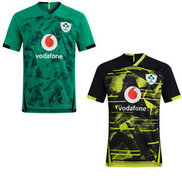Wholesale 2021 World Cup Ireland rugby Jerseys Irish IRFU NRL Munster city Rugby League Leinster alternate jersey 20 21 ulster Irishman shirts