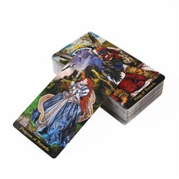 deck cards UK - Tarot Illuminati Kit 78 Cards Deck Divination Fate Family Party Board Game Toy Drop Shipping yxliwY ly_bags
