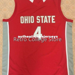 petal crafts Australia - Ohio State Buckeyes #4 Aaron Craft Retro Basketball Jersey All Size Embroidery Stitched Customize any name and name XS-6XL vest Jerseys