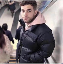 Wholesale mens overcoat streetwear for sale – winter 2020 Mens Down Stylist Coat Parka Winter Jacket Men Women Winter Feather Overcoat Jacket Down Jacket Coat Size M XXL