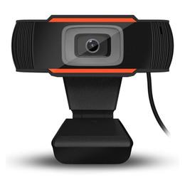 HD webcam web caméra 30fps 480p / 720p / 1080p caméra PC caméra intégré microphone d'absorption sonore USB 2.0 enregistrement vidéo pour ordinateur portable ordinateur ordinateur portable en Solde