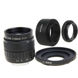 Wholesale m3 hood for sale – custom FUJIAN mm F1 CCTV Movie Lens C Mount Lens Hood Macro Ring for Canon EOS M EOS M2 M3 M10