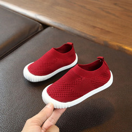 children s shoes NZ - children\'s casual shoes New boys and girls shoes candy color non-slip wear-resistant breathable one foot single