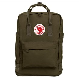 backpack specials NZ - Fashion Classic Fjallraven Kanken Special Color Scheme Belt Backpacks Unisex Leather Schoolbag Waterproof Outdoor Sports Bags Outlet 9