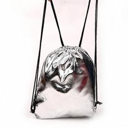New PU Drawstring Bag Canvas Bundle Sports Backpack Fashion Lady Out Travel Storage Bag Casual Wild Female Sports Backpack Hiking Back rCkB#