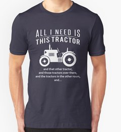farming gifts Canada - All I Need Is This Tractor T Shirt Funny Slogan Joke Birthday Gift Farm Farmer 2020 New Casual Top Tee 100% Cotton T Shirts