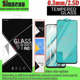 horse glasses NZ - Swift Horse 21H Full Glue Tempered Glass Screen Protector For OPPO Reno 4 K3 K5 F1S F9 Pro In Carton Box
