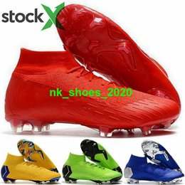 high top soccer cleats cr7 2020 - VI eur 46 cleats CR7 Mens size us 12 ball football Men Superfly 6 FG AG ronaldo women Mercurial boots Shoes cristiano hi