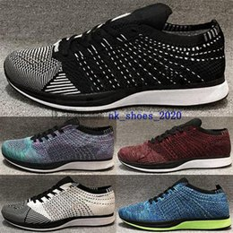 Wholesale youth boys joggers resale online – Sneakers shoes trainers running women big kid boys knit fly size us eur racer mens men youth joggers enfant femmes hiking