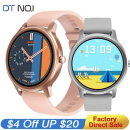 DT56 lady Smart Watch IP67 Waterproof Heart Rate Monitor Blood Pressure Oxygen Fitness Tracker Sport Women Smartwatch Men