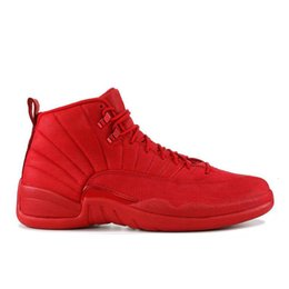 Wholesale dress games for sale – halloween Mens Basketball Shoe Gym Red Michigan Bordeaux s White Black Reverse Flu Game Royal University Gold Taxi Sports Sneakers Size
