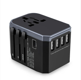 universal electrical outlet multifunctional power adapter european set travel adapter plug socket USA AU on Sale