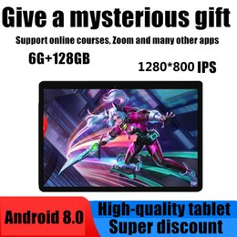 Wholesale Hot sale 10.1 inch Android 9.0 Tablet PC 10core RAM 6GB ROM 128GB IPS 4G Lte Phone Call Option Card Wifi GPS Bluetooth Tablet PC