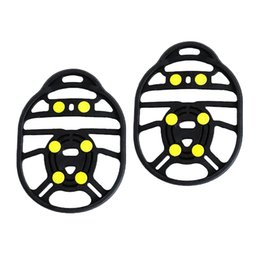snow shoe grips Australia - 6 Teeth Anti Slip Ice Grippers Snow Traction Crampon Cleats Shoes Grips