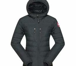Free shipping ladies down jacket winter warm jacket 100% duck down windproof hooded77