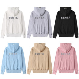 Wholesale spandex sweaters resale online - unisex good quality hoodies men women fast shipping sweater jackets tshirt sweatshirt coats mens girls hooded many color reflective letter