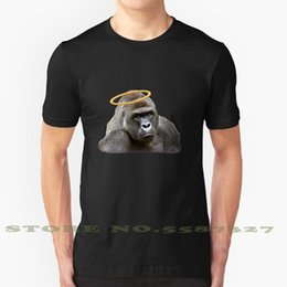 gorilla tshirt UK - Harambe Fashion Vintage Tshirt T Shirts Harambe Gorilla Gorillas Animal Animals Zoo Child Gun Dead Rip Innocent Heaven Angel