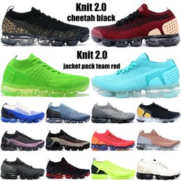 Wholesale green light jacket for sale - Group buy New fly mens running shoes cheetah triple black jacket pack team red beige gold knit men women sneakers trainers