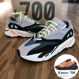 venda por atacado 700 Runner 2019 Nova Kanye West Onda Mauve Mens Mulheres Athletic Melhor Qualidade 700 s Sports Running Sneakers Sapatos De Grife Com Caixa