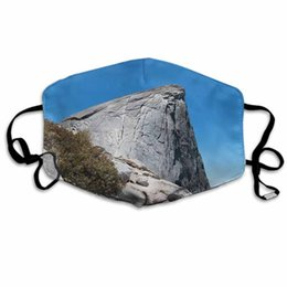 saw face mask NZ - Christmas Masks Cartoon Cables With Climbers On Half Dome As Seen From The Sub Dome Outdoor Sports Dust Proof Breathable Face Masks