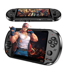 video game consoles for 2020 - X12 3000 Game Video Games Handheld Game Console for Retro Dual Rocker Joystick 5.1 inch Screen TV X12 PLUS Retro Console