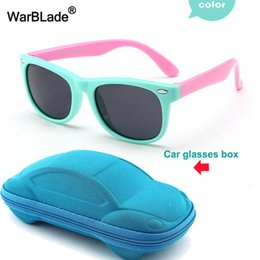 flexible sunglasses Australia - TR90 Flexible Kids Sunglasses Polarized Child Baby Safety Coating Sun Glasses UV400 Eyewear Shades Infant With Case WarBLade