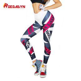 Wholesale patterned yoga leggings for sale - Group buy ROEGADYN Unique Pattern Design Seamless Leggings Sport Women Fitness Yoga Pants Plus Size Legging Sport Female
