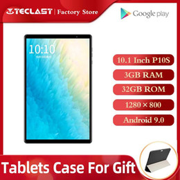 teclast octa core tablets 2020 - Tablets PC Teclast P10S 4G Call Tablet Android 9.0 SC9863A Octa Core A55 10.1 inch 3GB RAM 32GB ROM Dual Camera GPS Wifi
