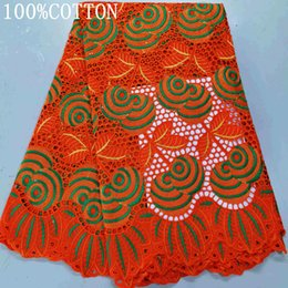 Wholesale material for dresses beads resale online - 2020 New arrival african Bazin riche fabric with beads embroidery lace bazin riche dress material in africa for women dress