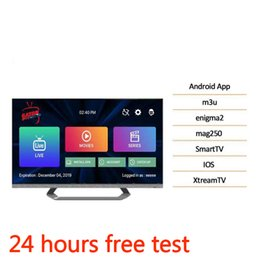 1 an d'abonnement aux programmes télévision Espagne Europe programmes pour la boîte de télévision Android M3U
