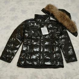 Wholesale women winter coat resale online - women winter jacket Hot sales removable Raccoon Fur Collar Winter Coat Outerwear Down Coats Slim Parkas Jackets Warm Winter Coats