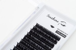 l curl eyelash Canada - Seashine High Quality Classic Lashes Curl J B C D L Factory Hade Made Soft And Comfortable Eyelashes Extension Free Shipping