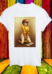 t shirt magazine UK - Naughty Velma Dinkley Scooby-Doo Looking Magazine Men Women Unisex T-Shirt 771 Graphic Tee Shirt