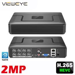 XMeye Опред.лица наблюдения аудио H.265 + Hi3521D 5MP 8CH 8-канальный видеорегистратор Гибридный WIFI 6 в 1 TVI CVI NVR AHD CCTV DVR на Распродаже
