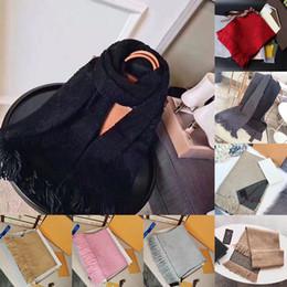 Kadınların Kış Erkek Eşarp luxe Pashmina Sıcak Moda Imitate Yün Kaşmir Atkılar 20ss için Kutu Hediye çantası Makbuz Etiket En kaliteli eşarplar ile