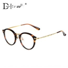 Wholesale 70s style online – design RhngS Round Myopia Glasses Glasses frame for men and women s literary and artistic myopia frame Harajuku style Korean fashion