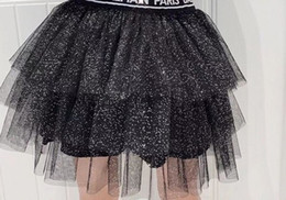 Ingrosso 2020 Nuove neonate Tutu Gonna Ballerina Pettiskirt Bambini Balletto Balletto Gonne per feste Dance Princess Girl Tulle Vestiti