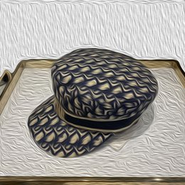Toptan satış Newsboy şapkalar yeni kadın kapaklar Donanma şapka bayan moda harfler şapka avangard sonbahar kış gösterisi bere şapka Noel hediyesi 57cm güneşlik
